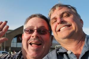 My goofy uncles.