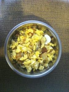 Sunny's brunch bowl!