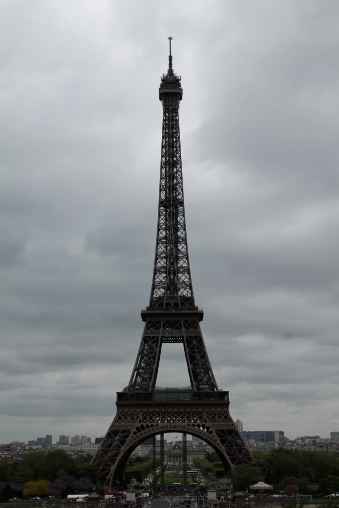 There she is! The Eiffel Tower!!