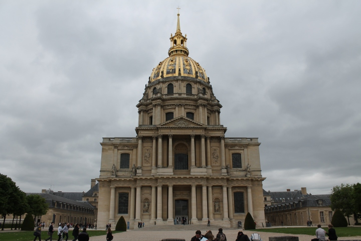 Hotel des Invalides (where injured soldiers lived during Napoleon's reign)