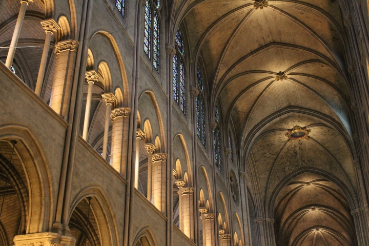 Start of the inside pics from Notre Dame