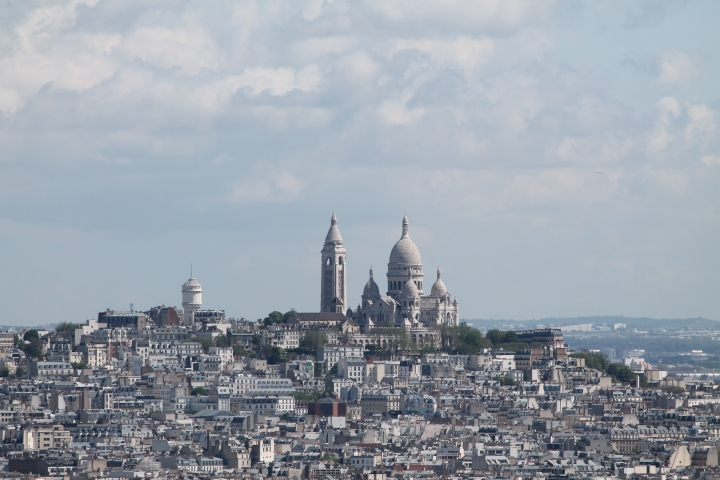 Close up of the Sacre Coeur