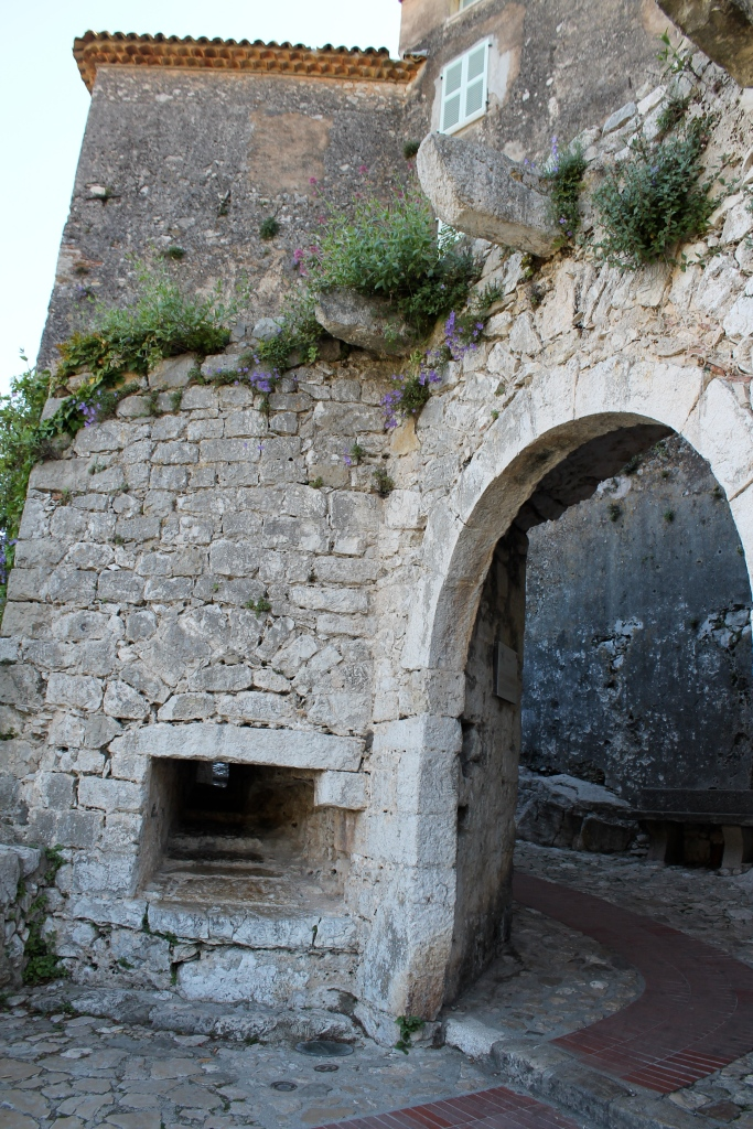 The entrance to Eze!
