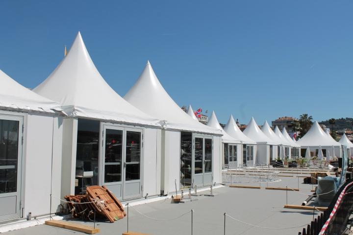 Press tents
