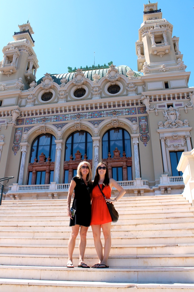 "In ""front"" of the Monte Carlo!  Oops.  We were wondering why it didn't seem busy..."