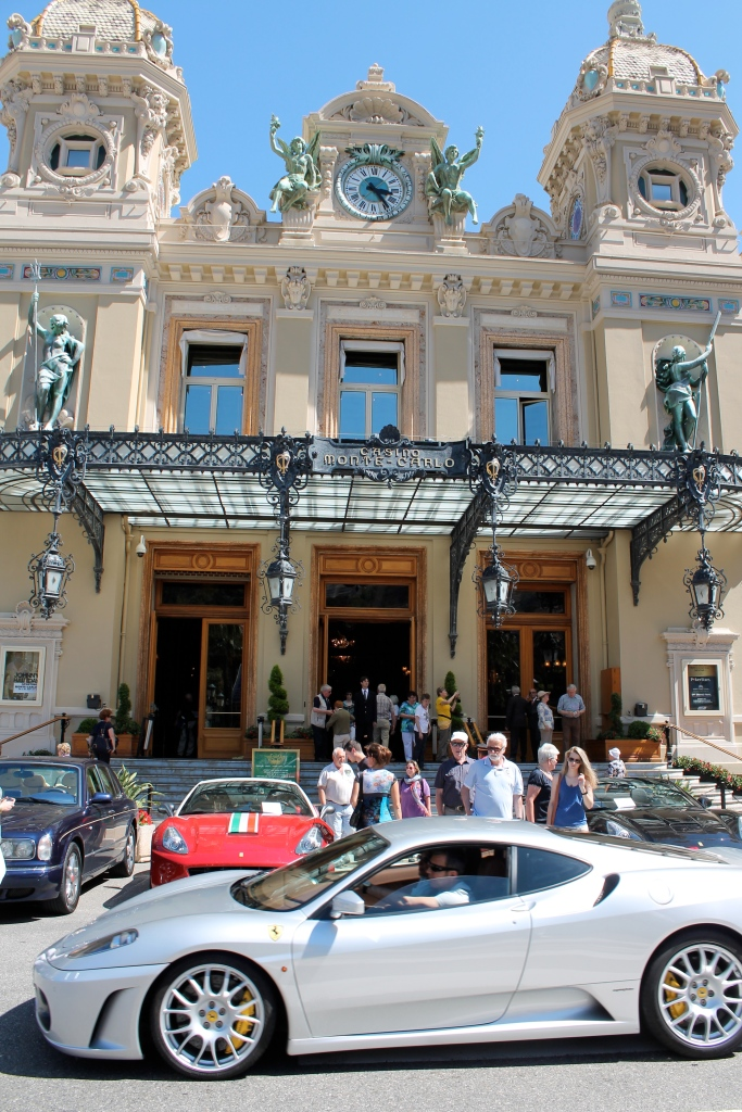 More of the front of the Monte Carlo.  There were incredible cars everywhere!