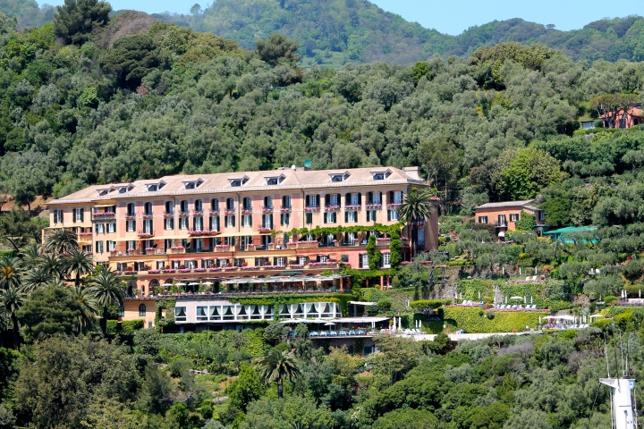 An incredible hotel, in the hills surrounding the town
