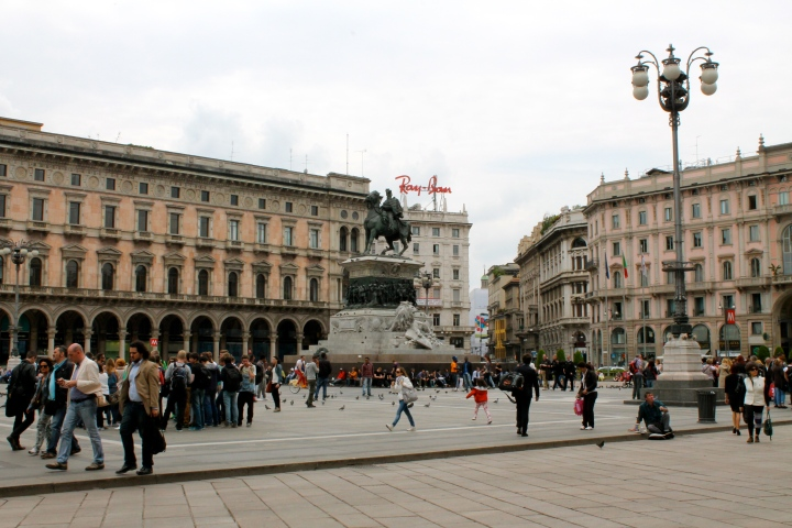 Plaza in front of the Duomo