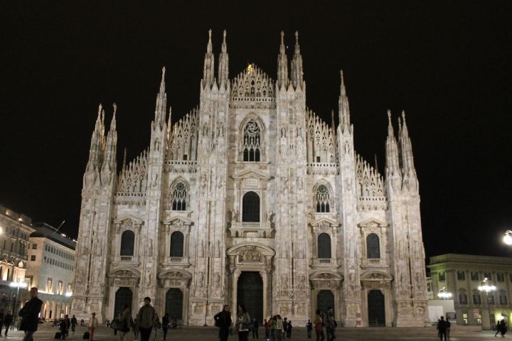 Duomo at night!
