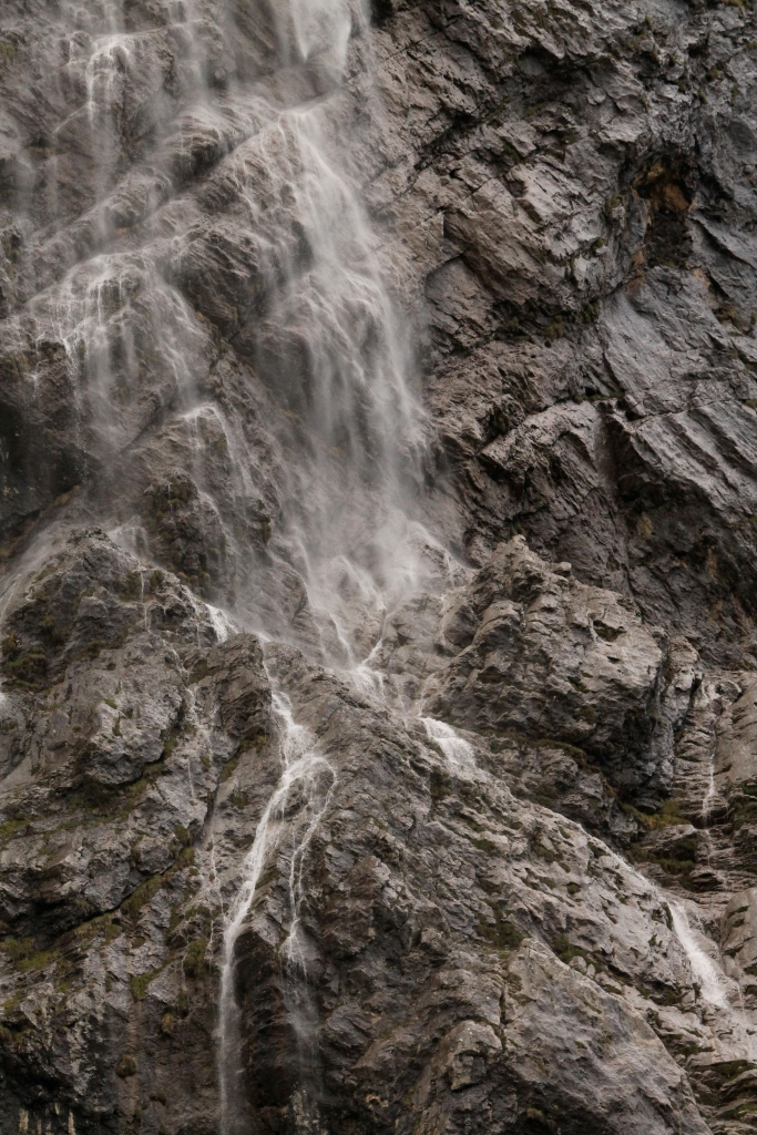 Close up of some waterfalls-- thanks to my zoom lens :)
