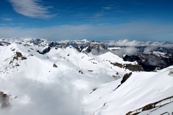 Alps as far as the eye can see!