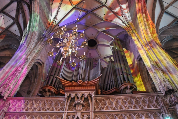 Love this picture of the organ!