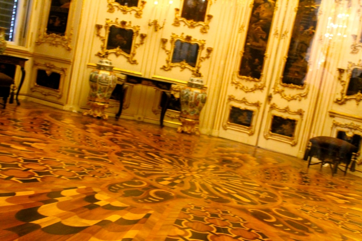 Loved the wood floors!