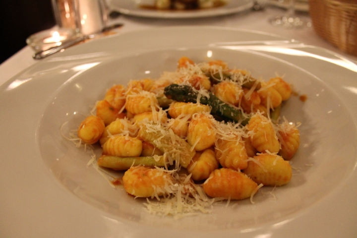 My fantastic vegetable gnocchi!