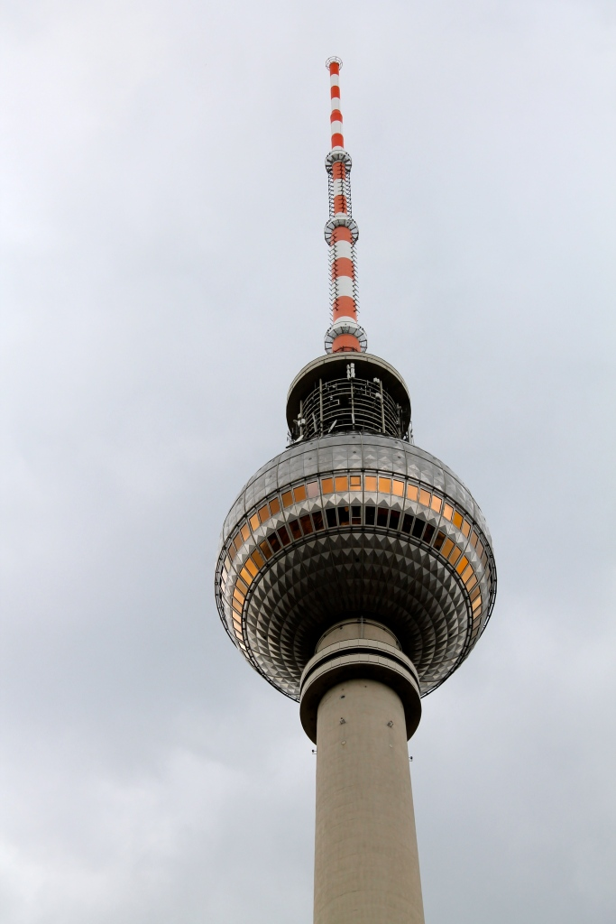 Close up of the top of the tower