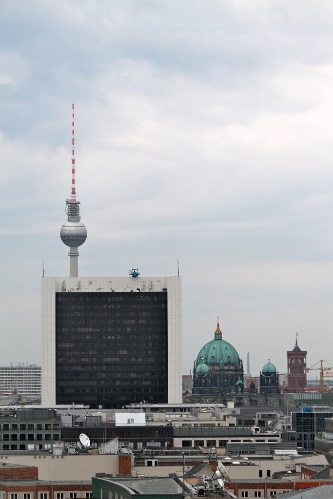 Looking toward Alexanderplatz, with the Berliner Dom in the foreground!